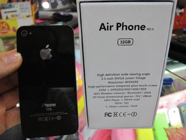 copia iphone 4S